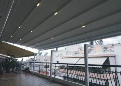 Φωτισμός Led Πέργκολας